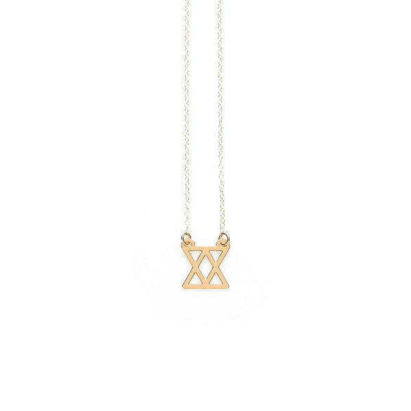 Gold Connect Pendant