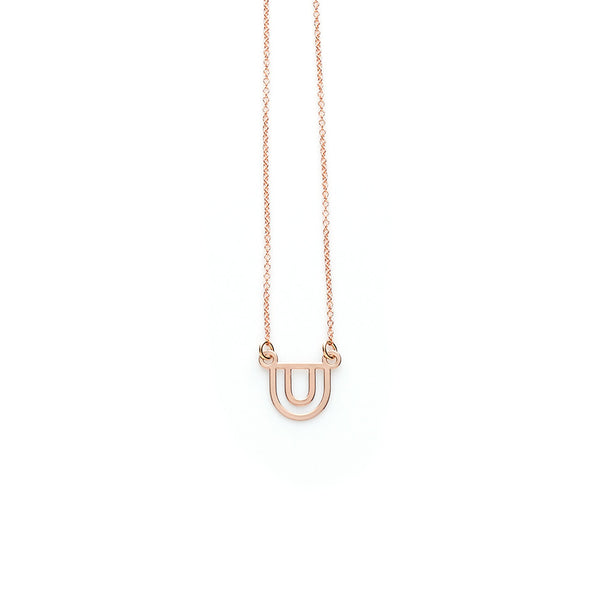 Rose Gold Balance Pendant