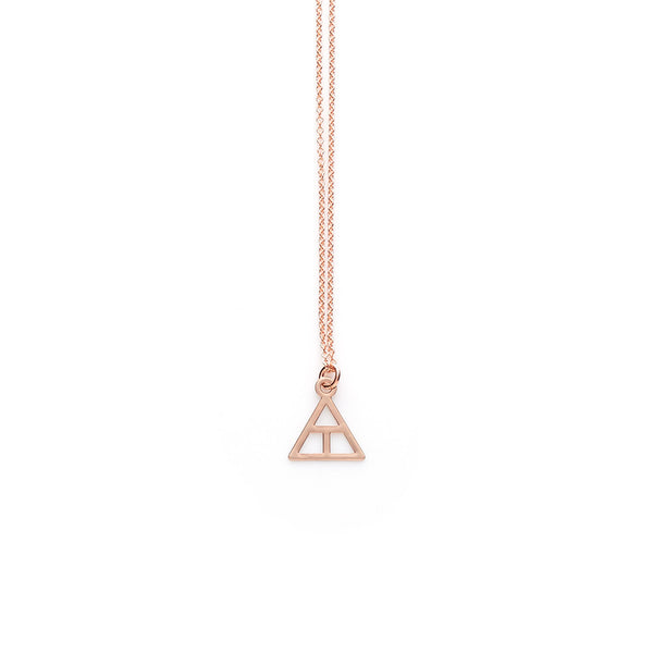 Rose Gold Create Pendant
