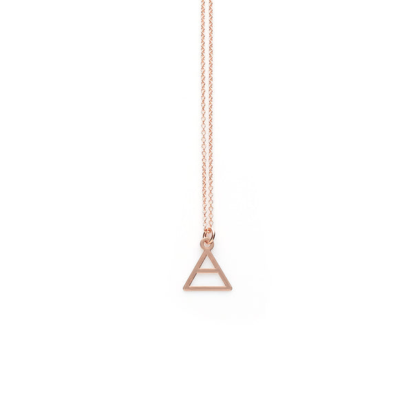 Rose Gold Explore Pendant