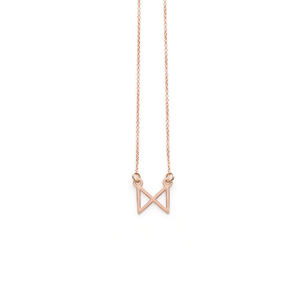 Rose Gold Reflect Pendant