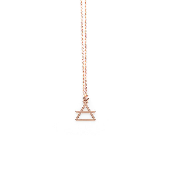 Rose Gold Transcend Pendant