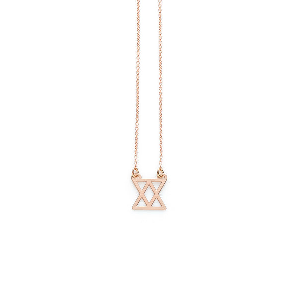 Rose Gold Connect Pendant