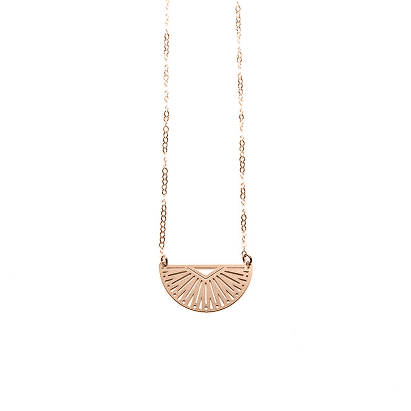 Rose Gold Inca Necklace -  Limited Edition