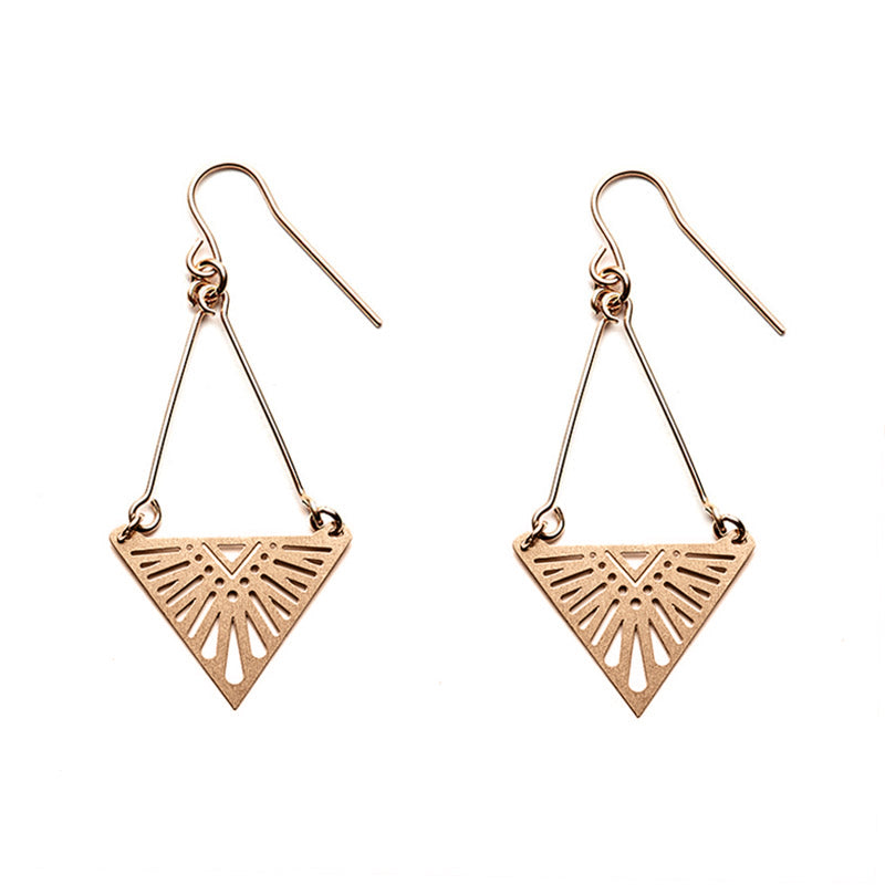 Rose Gold Tula Earrings- Limited Edition