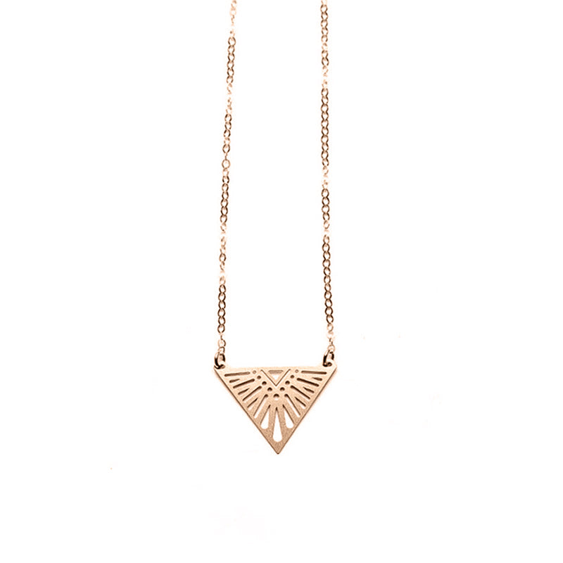 Rose Gold Tula Necklace -  Limited Edition