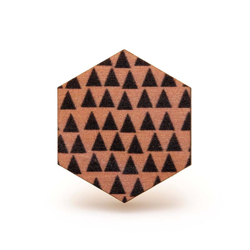 Copenhagen Ring - Pink Triangles