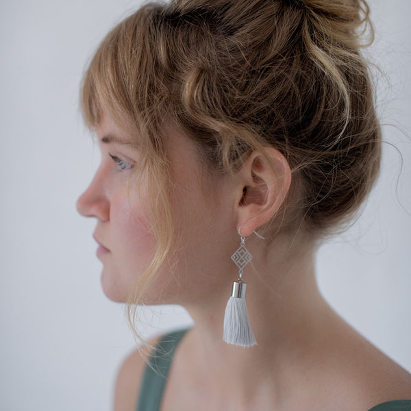 SS Astrid Tassel Earrings