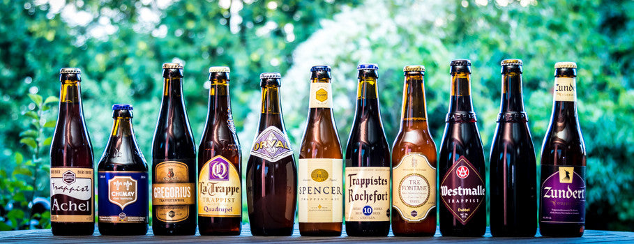 Trappist beers and abbey ales