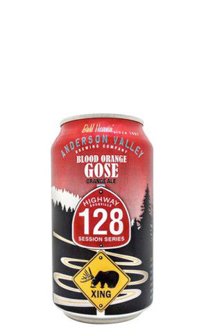 Anderson Valley Highway 128 Session Series Blood Orange Gose