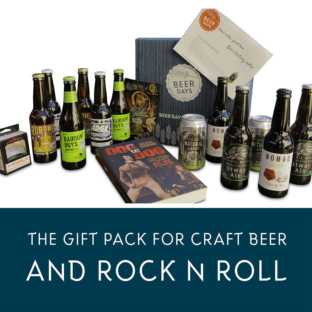 Craft Beer and Rock n Roll Gift Pack