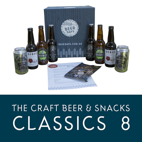 The Craft Beer and Snacks Classic 8 Beer Hamper