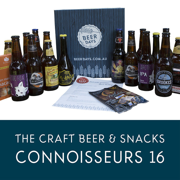 The Craft Beer and Snacks Connoisseurs 16 Beer Hamper