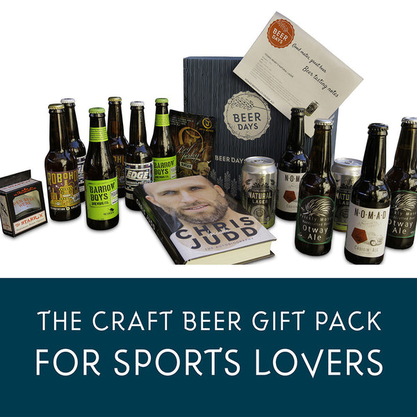 Craft Beer And Sport Lovers Gift Pack