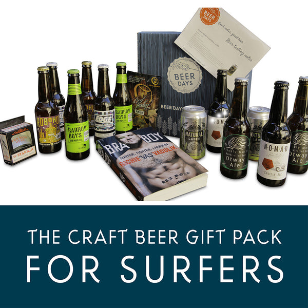 Craft Beer Gift Pack for Surfers