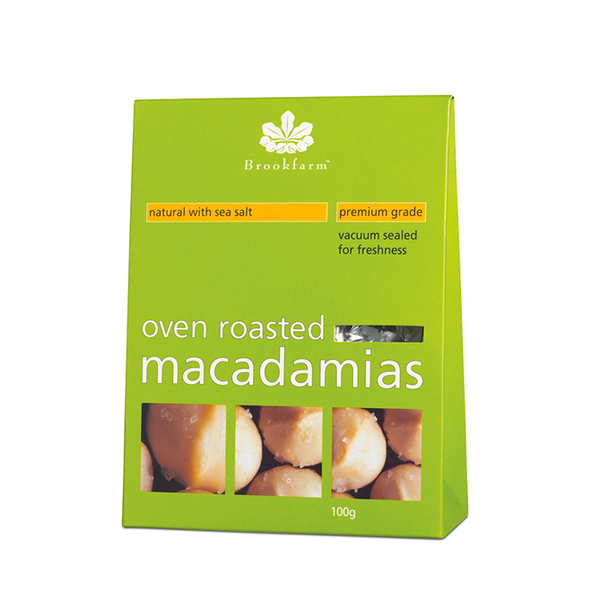 Brookfarm Premium Grade Macadamias Natural with Sea Salt