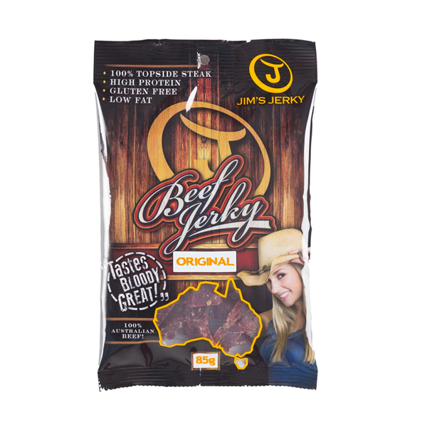 Jim's Original Beef Jerky (Large - 85gms)