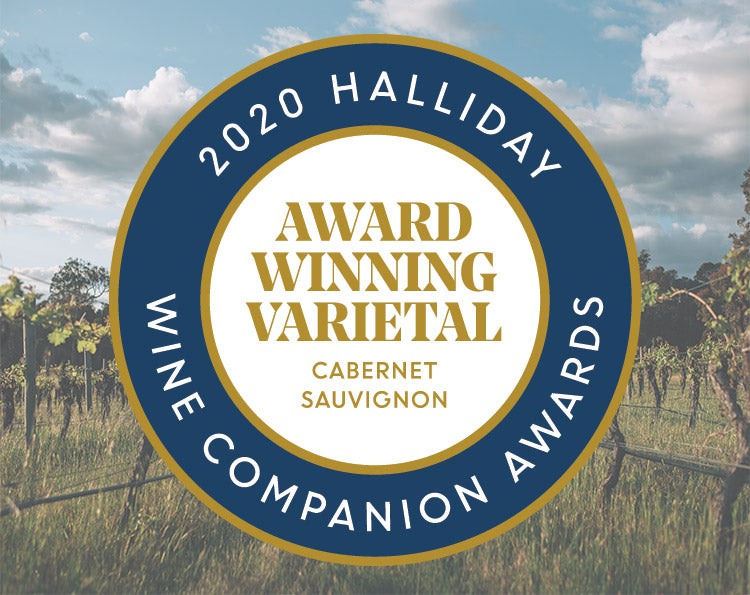 deep woods awarded cabernet of the year in the 2020 halliday wine companion