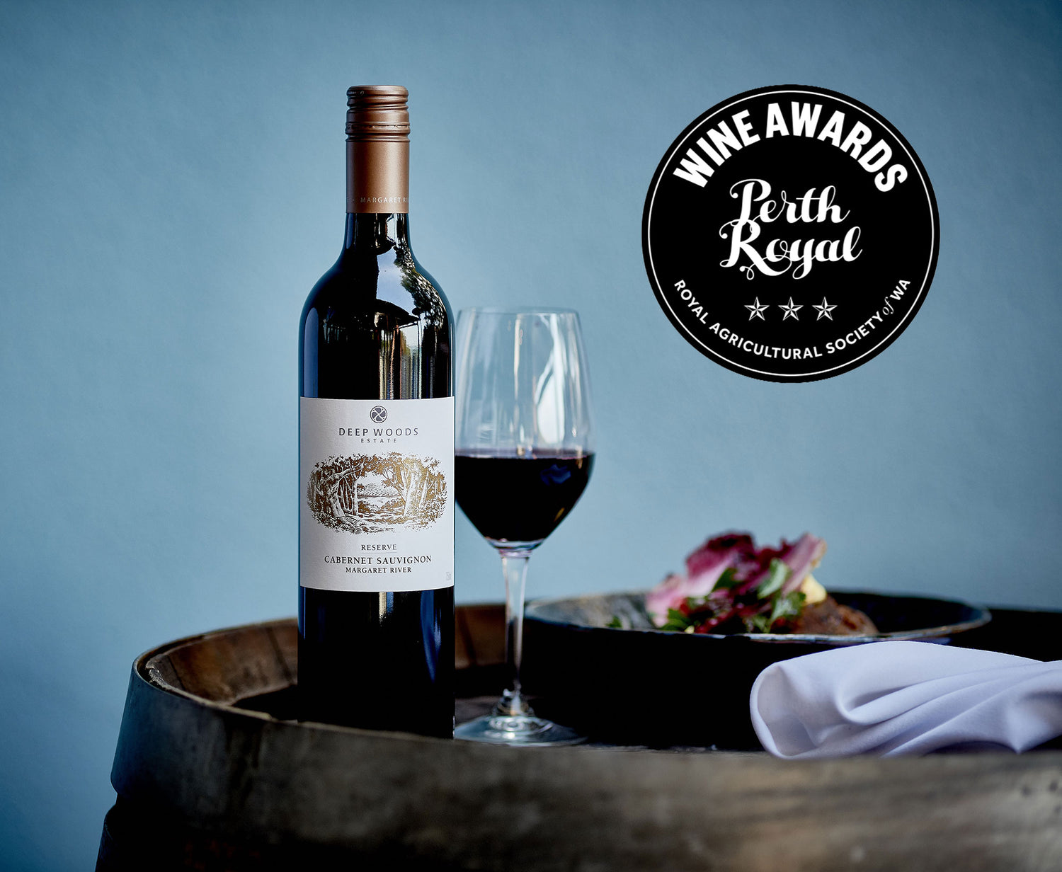 deep woods reserve is top cabernet at perth royal wine awards