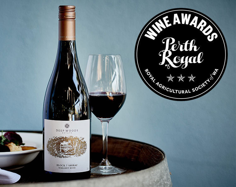 deep woods wins best wine in show at the 2019 perth royal wine awards