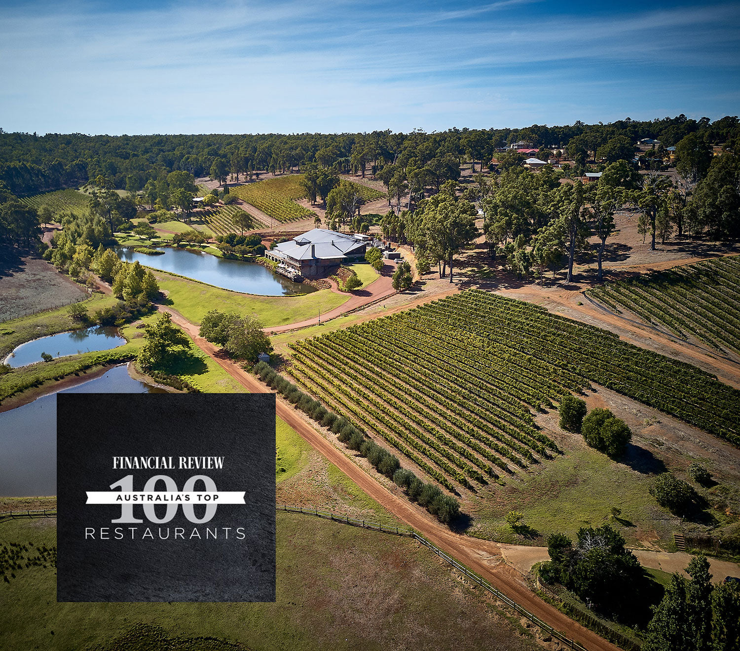 Millbrook in Australia's Top 100 Restaurants