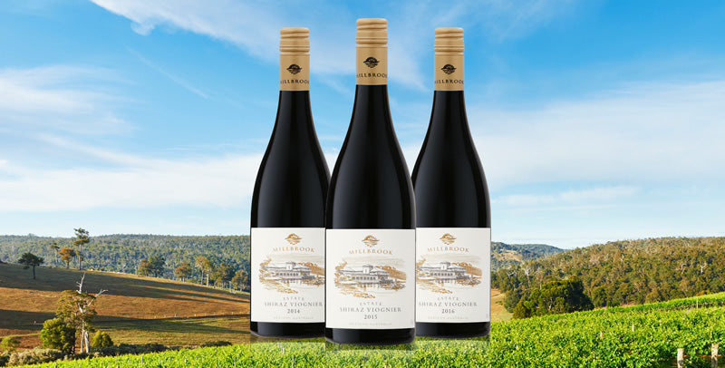 exclusive estate shiraz viognier case  |  3 generations of an icon