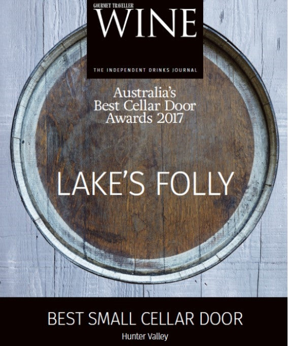 Gourmet Traveller | Best Small Cellar Door Award 2017
