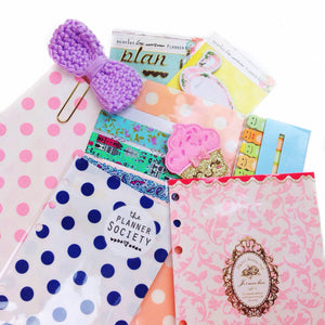 DIY Planner Pockets Using Merchant Baggies