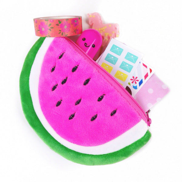 Pink Watermelon Pouch - Unicorn Planner