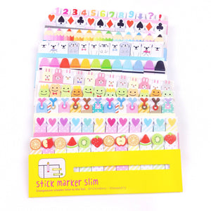Page Flag Sticky Notes - Unicorn Planner