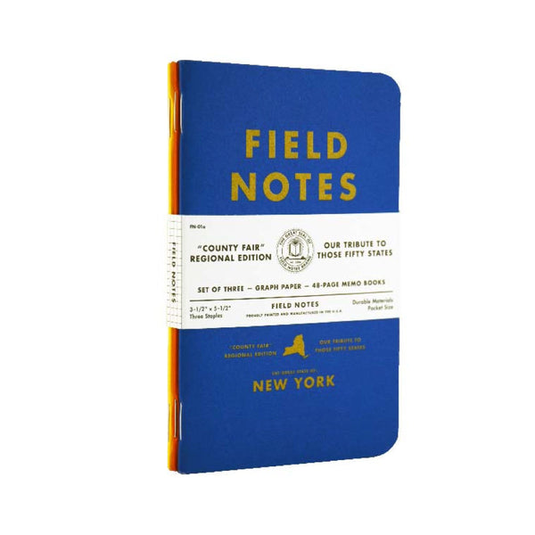 Field Notes Country Fair Graph Paper 3-Pack