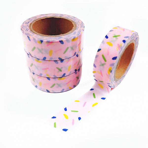 Candy Sprinkles Washi Tape - Unicorn Planner