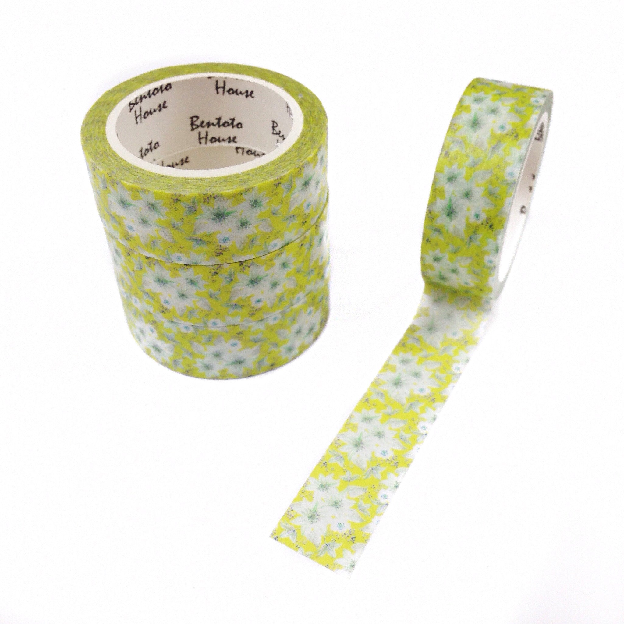 Endless Summer Floral Washi Tape