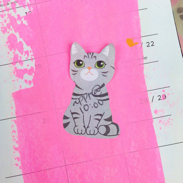 Kitty Sticky Notes - Unicorn Planner