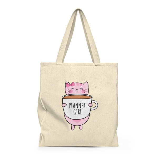 Kitty Cotton Planner Girl Tote