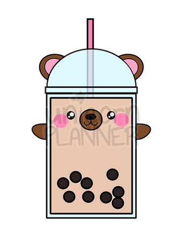 Boba Bear with Paws Printable (DIGITAL DOWNLOAD)
