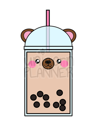 Boba Bear Printable (DIGITAL DOWNLOAD)
