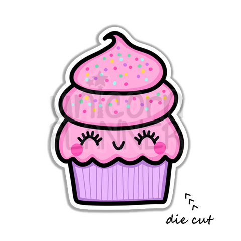 Candy Cupcake (DIE CUT)