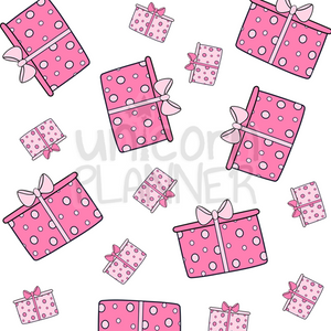 Gift Paper Printable - Pinks (DIGITAL DOWNLOAD)