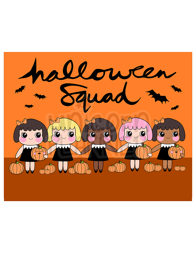 Chubby Cheeks - Halloween Squad (DIGITAL DOWNLOAD)