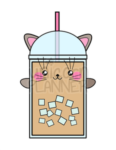 Coffee Cat Printable (DIGITAL DOWNLOAD)