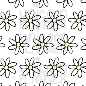 graphic regarding Daisy Printable named Daisy Yellow Printable Paper (Electronic Obtain)