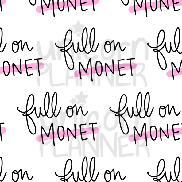 Full on Monet Printable Paper (DIGITAL DOWNLOAD)