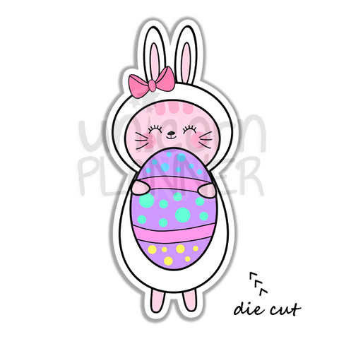 Kitty Cotton Easter Egg (DIE CUT)