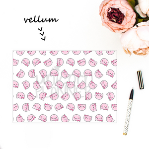 Kitty Cotton Face (VELLUM)
