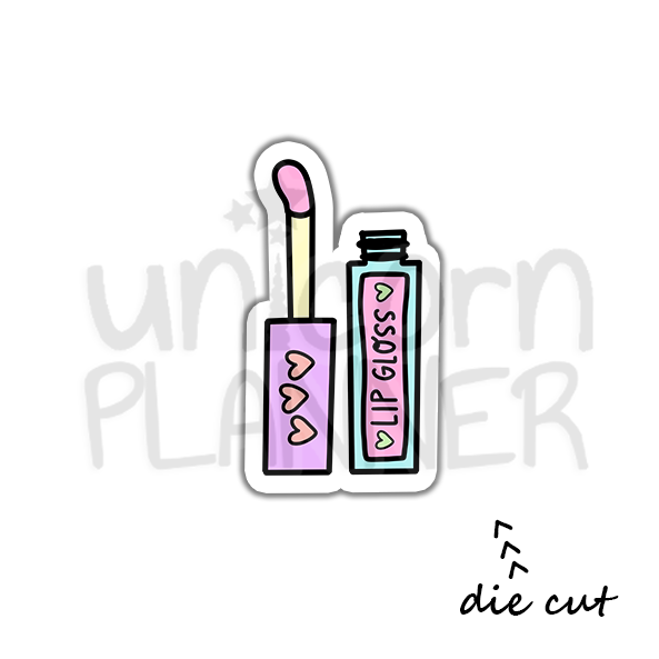 Lip Gloss (DIE CUT)