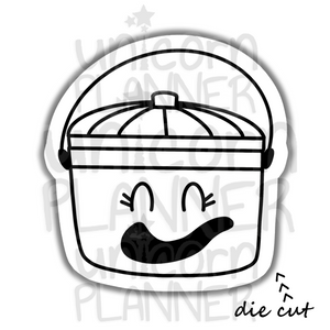 Fast Food Treat Bucket Ghost (DIE CUT)