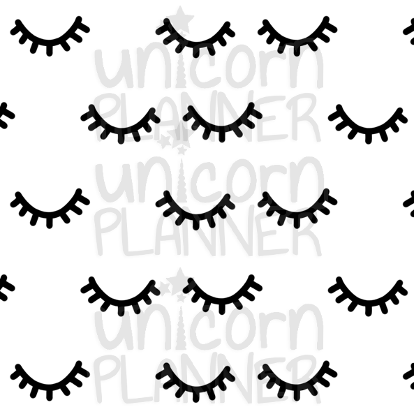 Night Eyes Printable Paper (DIGITAL DOWNLOAD)