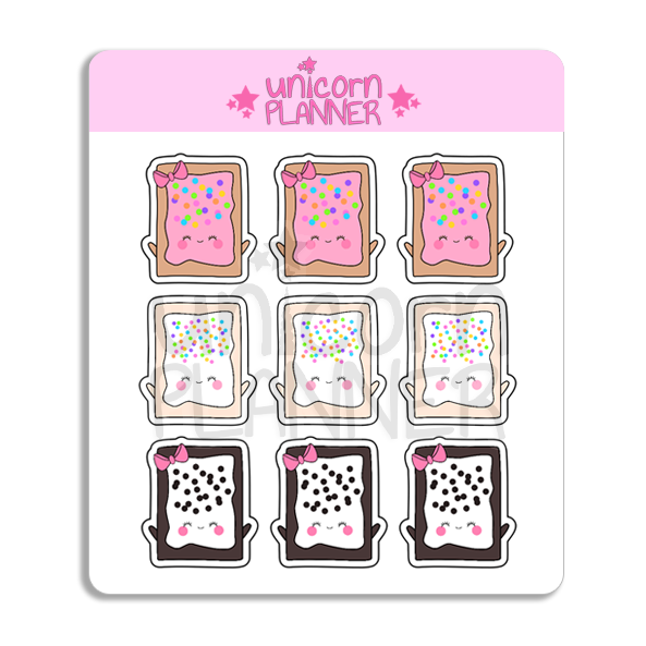 Toaster Pastry Squad (STICKERS)