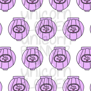 Polly Pockets Purple Printable Paper (DIGITAL DOWNLOAD)